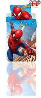 Official Spiderman Duvet Set,TODDLER Duvet Cover&Pillowcase,100%Cotton(140x90)cm