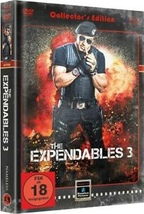 Mediabook The Expendables 3 Stallone Cover B Retro Limited Blu-Ray+DVD New