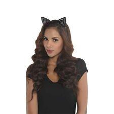 Studded Cat Ears Animal Headband Fancy Dress Costume Halloween Cosplay Accessory