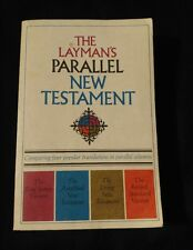 The Layman's Parallel New Testament paper sixteenth printing 1975 GodJesus holy