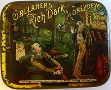 Gallahers Rich Dark Honeydew Tobacco 1oz Tin (Sherlock Holmes Tin)