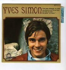 45 RPM EP YVES SIMON T'AS PAS CHANGE TU SAIS