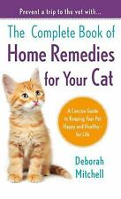 The Complete Book of Home Remedies for Your Cat (Lynn Sonberg Books)-ExLibrary