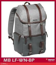 Manfrotto Windsor Camera and Laptop Backpack for DSLR (Gray) Mfr # MB LF-WN-BP
