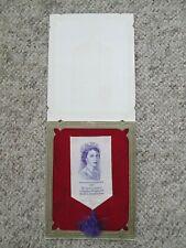 1953 Queen Elizabeth II Coronation Lullingstone Silk Tassle