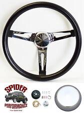 """1974-1993 Volkswagen steering wheel 13 1/2"""" MUSCLE CAR CHROME"""