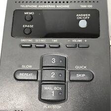 Sony TAM 100 Digital Telephone Answering Machine Works
