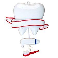 Personalized Christmas Ornament Dentist, Hygienist, Dental Receptionist Student