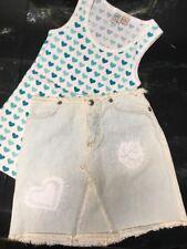 United Colors of Benetton Girls Jeans skirt Size X/S So Wear It Declare It S.