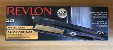Revlon Pro Hair Salon One Pass Digital Styler Straightener 230°c RVST2167UK