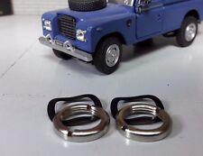 Land Rover Serie Tuerca Bisel & ARANDELA DE RECAMBIO 2x para Lucas durite