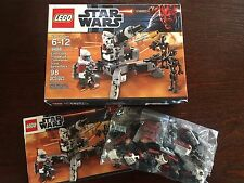 LEGO 9488 Star Wars Elite Clone Trooper & Commando Droid Battle Pack, Complete!