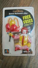 1999 Ronald McDonald Clown Figure Magnet sealed in package with Expired Coupons