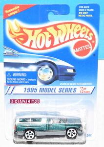 HOT WHEELS 1995 MODEL SERIES DODGE RAM 1500 #7/12 GREEN W+