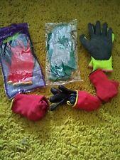 Job lot bundle Mens  gardening /working gloves