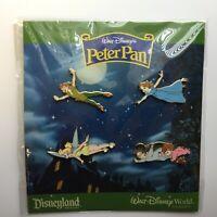 Walt Disneys Peter Pan 4 Pin Booster Collection Wendy Michael Disney Pin 60199