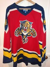 Rare Florida Panthers Starter CCM NHL Hockey Jersey XL