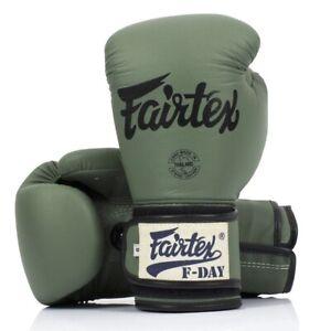 "Fairtex Muay Thai Boxing F-Day Limited Edition Gloves ""BGV11"""
