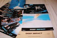 DEEP IMPACT  ! jeu 12 photos cinema lobby cards fantastique