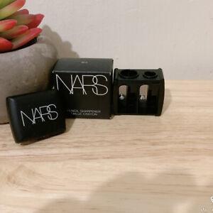 NARS Eyeliner Eye Lip Pencil Sharpener Black 2 Holes Dual dual-blade sharpening
