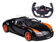 RASTAR R/C RADIO REMOTE CONTROL CAR BUGATTI GRAND SPORT VITESSE 1/14 BLACK