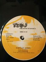 "Lovindeer ‎– Babylon Boops 12"" Vinyl Single 1987"