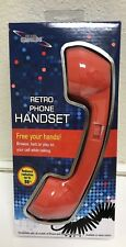 NEW! Club Siren Retro Phone Handset 3.5 mm plug, Coiled Cord 22-72""