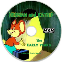 Herman and Katnip the Early Years - 11 cartoons on DVD Noveltoons Harveytoons