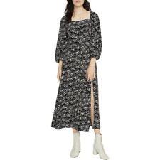 Святилище женские Линдси цветочный присборенный дневные Midi платье bhfo 9812