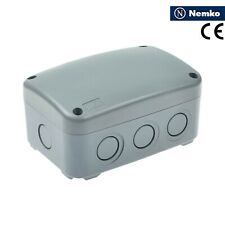 electrical enclosure plastic junction box IP66 dust/splash proof 125 × 86 × 62mm