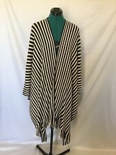 Suzannegrae  black and cream Poncho jumper BNWT one size fits all