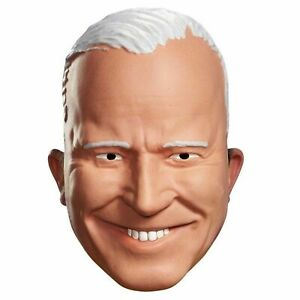 Joe Biden 1/2 Mask Vacuform Vice President United States Adult Costume Halloween