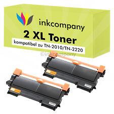 2 XXL TONER PATRONE NEU für Brother TN2220 MFC7360N MFC7460DN MFC7860DW HL2240