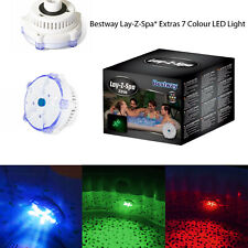 Lay-Z-Spa 7 Colour LED Underwater Light Hot Tub Pool Spa Accessory