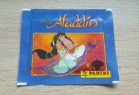 Panini 5 Tüten Disney´s Aladdin Bustina Pochette Packet Pack Disney