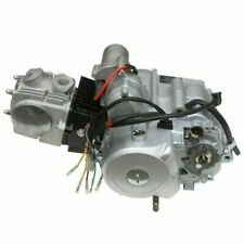 TDRMOTO TD406 Kit 3 Speed ATV Engine 125cc with Gear Shift Lever and Manifold Set - Silver