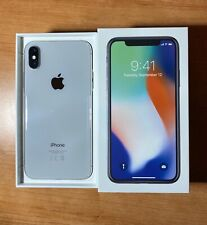 iPhone X, 256gb, WHITE SILVER
