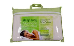 New Aloe Vera Cool Orthopaedic anti-mite Memory Foam Pillow Anti Allergenic