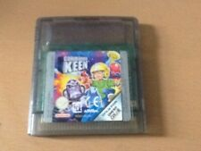 Genuine Game Boy Colour Commander Keen Cart only