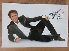 Cliff Richard - Autogramm, Autograph (20x30 cm Bild)