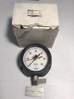 Wika Low Pressure Process Gauge 4 1/2