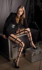 Trasparenze Feinstrumpfhose Fashion Tight mit Muster Gr. 4 Strumpfhose Schwarz
