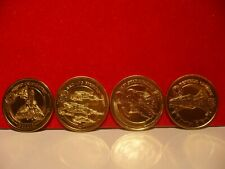 STAR WARS COINS REVENGE OF THE SITH MEDALIONZ SET OF 4 FIGHTER SHIPS IN GOLD