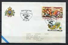 S16208) San Marino 1997 Cover 8 ^ Show Mycological Del Titan Mushrooms