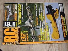 µµ Revue RC Pilot n°61 Plan encarté Minimax / Fox EPP Boomerang Gee Bee model Y
