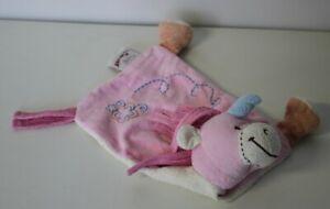 Süsses Schmusetuch Einhorn Pferd rosa von Bengy