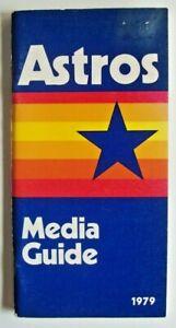1979 Houston Astros Media Guide