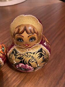 Set Of 7 Russian Dolls, Bought In Prague