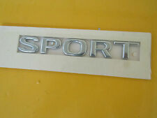 Schriftzug Emblem SPORT chrom Tür vorne Omega B ORIGINAL OPEL 177738