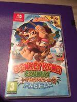 Nintendo 1x Donkey Kong Tropical Freeze - NEW REPLACEMENT Case - Display Box